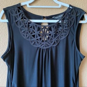 WHBM Neckline Detail Dress
